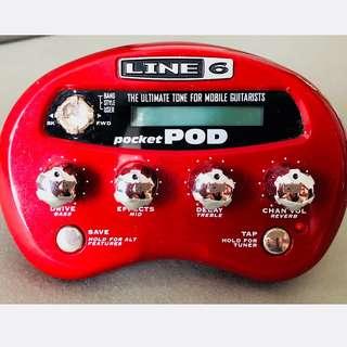 Line6 Pocket POD Guitar Tone Effects