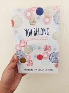 You Belong - Inspirational book