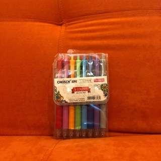 Chosch 8 colors gel pen