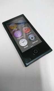 99% new Black ipod Nano GEN 7 16GB