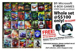 31 XBOX Video Games To Clear!