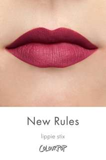 Colourpop Lippie Stix New Rules Instock