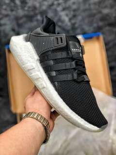 Adidas EQT Support Future Boost 93/17針織跑步鞋