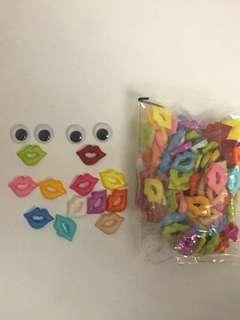 Kids Craft  mouth lips