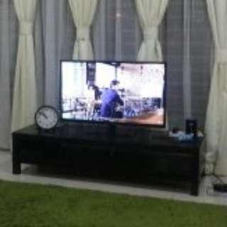 TV LED Plasma Panasonic 39 Inci Percuma TV cabinet IKEA