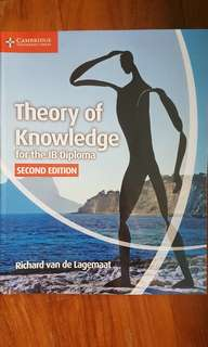 🚚 IB Theory of Knowledge ToK (Cambridge) textbook