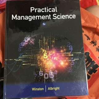 Practical Management Science by Winston Albright