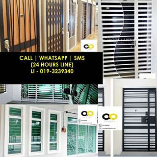 IRON GRILL / GRILL BESI - DOOR, WINDOWS, etc