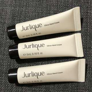 Jurlique Citrus Hand Cream 5ml