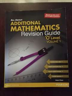 Additional Mathematics Revision Guide O level