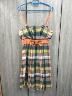 Retro Checkered Dress