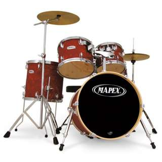 Mapex QR Series 5PC Drumset Crimson Swirl