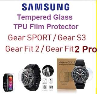 Samsung gear S3 / sport / fit 2 pro tempered glass Protector