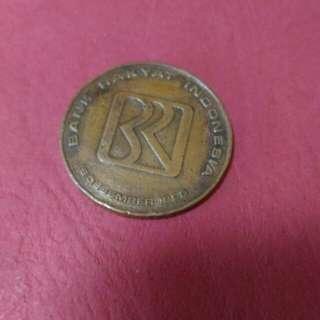 Coin BRI Tahun 16 DESEMBER 1895