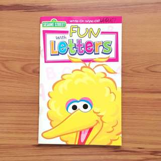 Sesame Street Fun with Letters