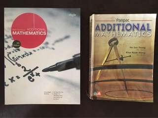 Additional Mathematics (Bundle Offer!!!)