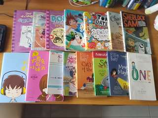 Books !! 15 BOOKS FOR $35 ONLY