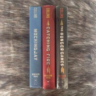 The Hunger Games Book Set (Hardbound)