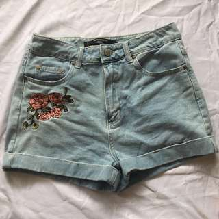Factorie High Waisted Mom Shorts