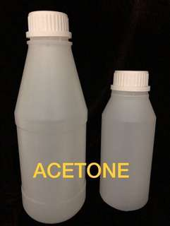 100% Pure Acetone Soak Off Salon Grade 500ml/1 ltr/2 ltr