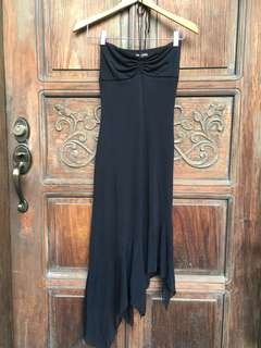 GUESS black halter dress