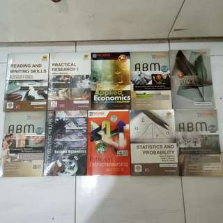 Grade 11 and grade 12 books!