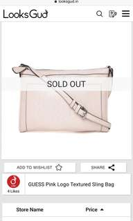 Authentic Guess Slingbag