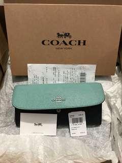 Coach Light Blue Wallet