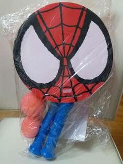 全新日本環球影城蜘蛛俠兒童球拍連球一套