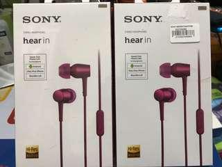 Sony 立體聲耳機