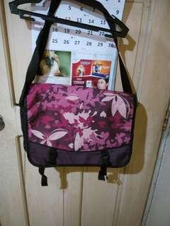 Imported Magenta Floral Heavy Duty Shoulder Bag