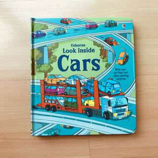 Usborne Look Inside - CARS