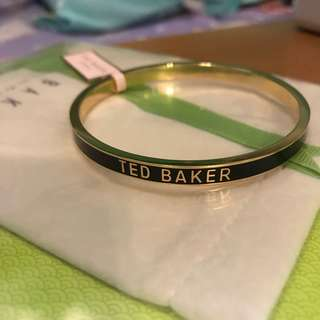 Ted Baker Clary narrow enamel bangle