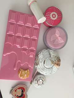 Pink sweet chocolate bar makeup eye shadow palette new
