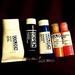 GOLDEN Artist Colours Acrylic Paint Set