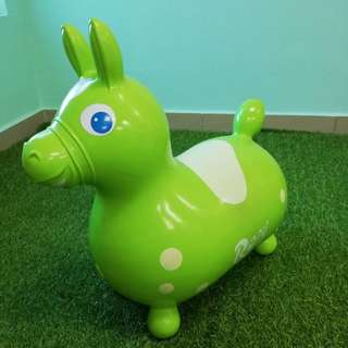 Rody bouncing ride on horse