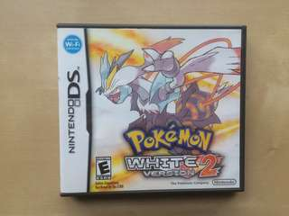 Pokemon White 2 (U.S Version)