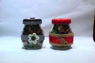 Handmade Potpourri Jars (made to order souvenir items)