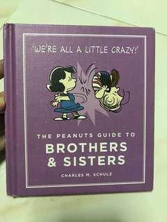 Peanuts picture book