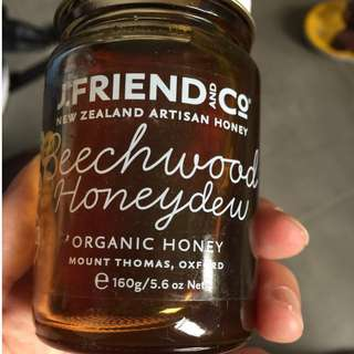 紐西蘭J.Friend Organic 有機手藝蜂蜜 160gsm (市面上最後一批,廠家不再生產,數量有限)