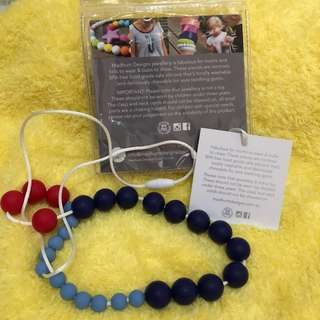 Necklace for Mom, Teether for Baby