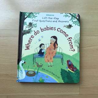 Usborne - First Q&A - Where do Babies Come From?