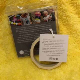 Bangle for Mom, Teether for Baby