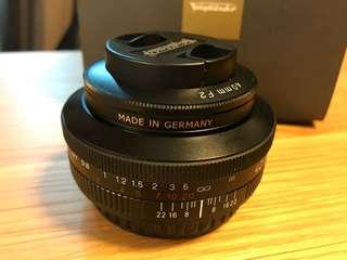99% new Voigtlander Ultron 40mm/f2 SL II for Canon
