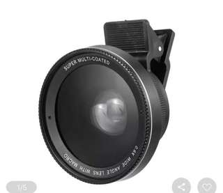 2 in 1 Wide angle lens & macro lens for smartphone