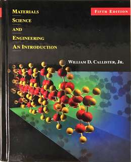 Material Science and Engineering An Introduction (5th Edition)
