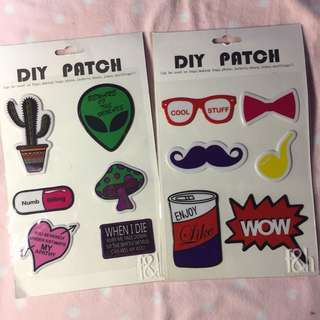 DIY PATCHES FOR SALE‼️