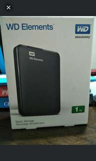 [BNIB]Portable hard drive