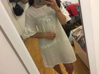White sleepwear