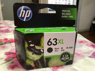 HP 63XL 原廠黑色墨